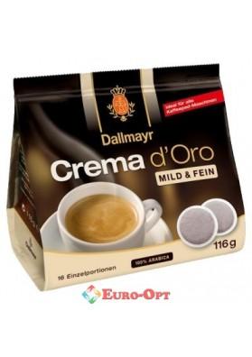 Dallmayr Crema d`Oro Mild&Fein 7g/16шт.