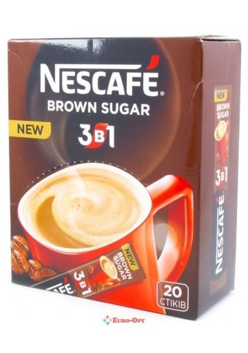 Nescafe 3в1 16гр*20шт (Brown Sugar)