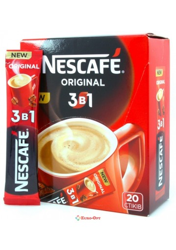 Nescafe 3в1 16гр*52шт (Original)