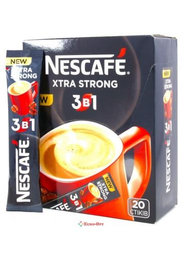 Nescafe 3в1 16гр*52шт (Extra Strong)