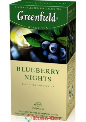 Greenfield Blueberry Nights (Черника) 25 п.