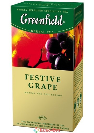 Greenfield Festive Grape (Виноград) 25 пак.