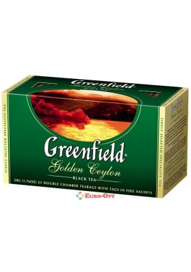 Greenfield Golden Ceylon 25 пак.
