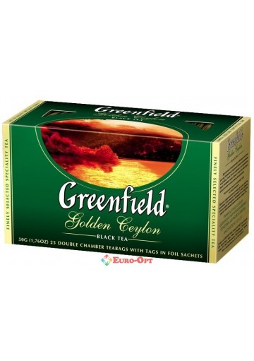 Greenfield Golden Ceylon 25 пак.