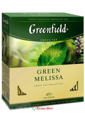 Greenfield Green Melissa (green) 100 пак.