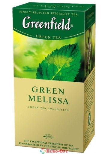 Greenfield Green Melissa (green) 25 пак.