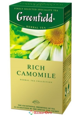 Greenfield Rich Camomile 25 пак.