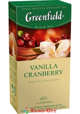 Greenfield Vanilla Cranberry 25 пак.