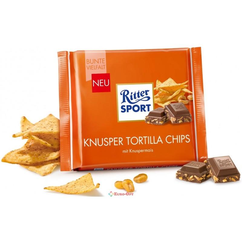 Ritter Sport Knusper Tortilla 100g · Ritter Sport Knusper Tortilla 100g 5164713e237