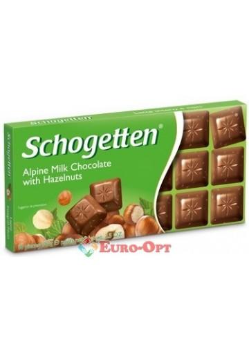 Schogetten Alpine Milk with Hazelnuts 100g
