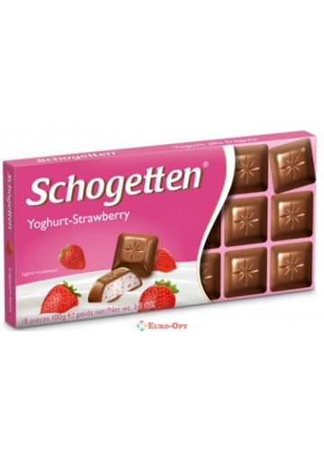 Schogetten Yoghurt-Strawberry 100g