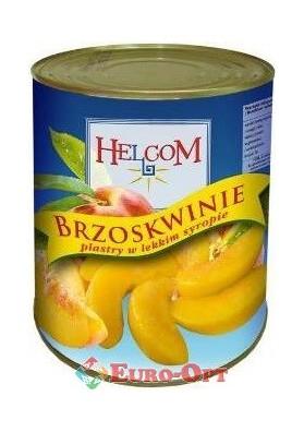 Персики Helcom в сиропе 825g