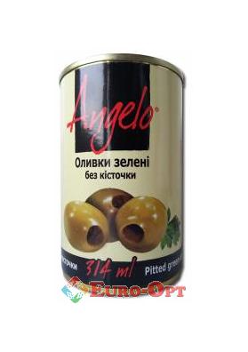 Оливки Angelo зеленые 314g