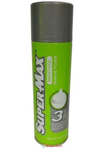 Пена для бритья Super-Max Menthol 250ml