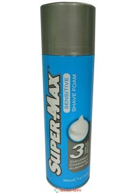 Пена для бритья Super-Max Sensitive 250ml