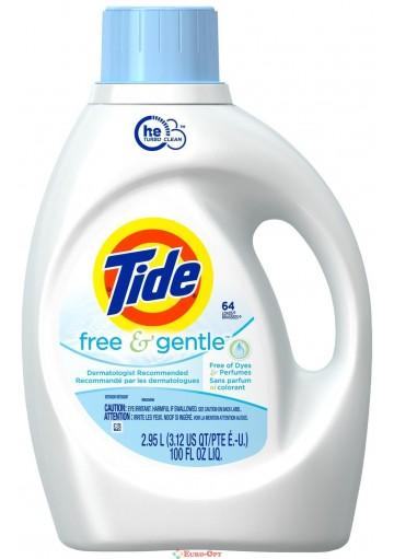 Tide Free & Gentle 2,95l