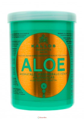 Kallos Cosmetics Aloe Hair Mask 1000ml