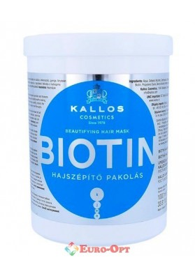 Kallos Cosmetics Biotin Mask 1000ml
