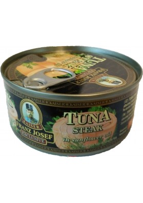Тунец в масле Franz Josef Tuna Steak 170g