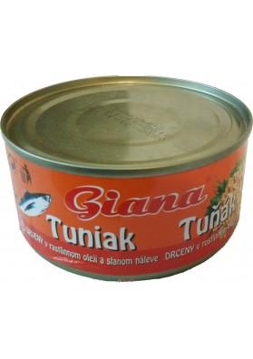 Тунец Giana 160g