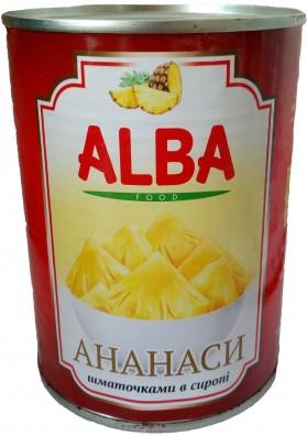 Ананасы Alba 580ml