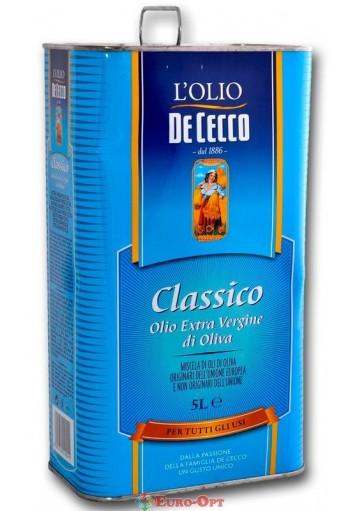 De Cecco Classico Olio Extra Vergine di Oliva 5000ml