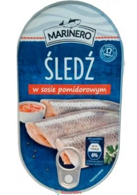 Marinero Сельдь в томатном соусе 170g.