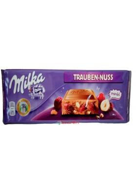 Milka Trauben-Nuss 300g.