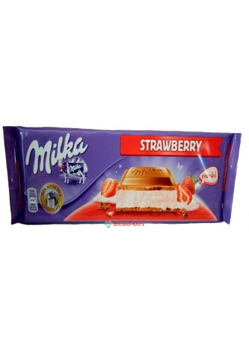 Milka Strawberry 300g.