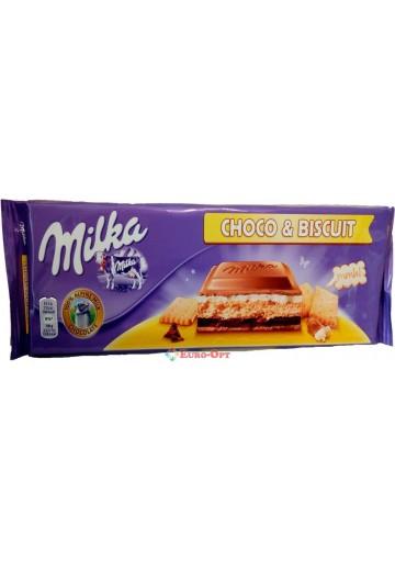 Milka Choco & Biscuit 300g.