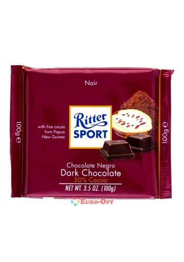 Ritter Sport Dark Chocolate 100g