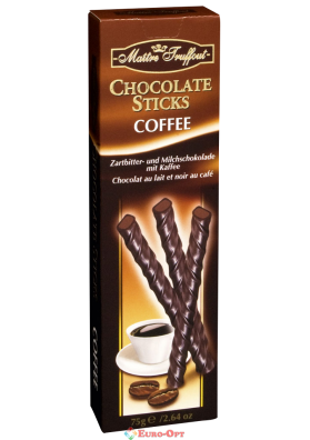 Maitre Truffout Chocolate Sticks Coffee 75g