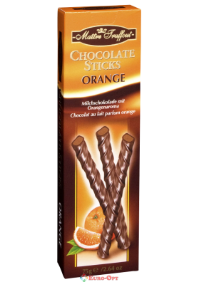 Maitre Truffout Chocolate Sticks Orange 75g