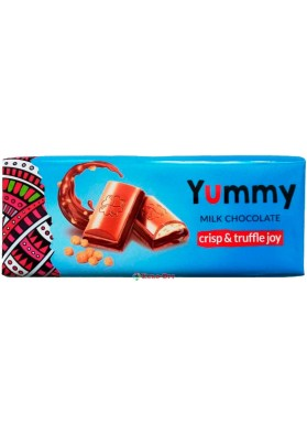 Yummy Milk Chocolate Crisp & Truffle joy 285g