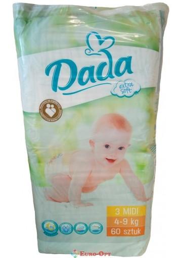 Dada Extra Soft 3 Midi 4-9 кг 60 шт.