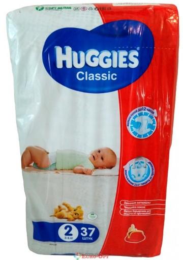 Huggies Classic 2 (3-6 кг) 37 шт.