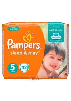 Pampers 5 Sleep & Play 11-18 кг 42 шт.