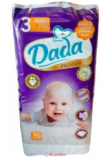 Dada Premium 3 Midi 4-9 кг 60 шт.