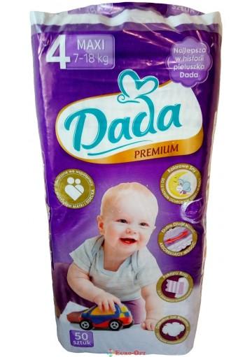 Dada Premium 4 Maxi 7-18 кг 50 шт.