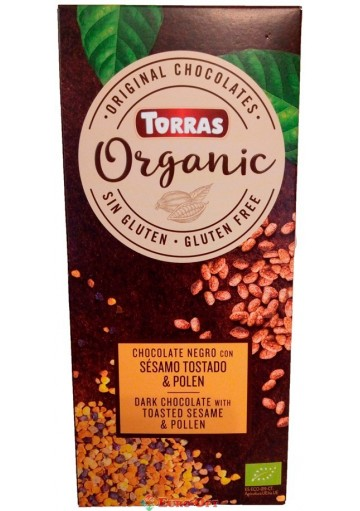 Torras Organic Sesamo Tostado & Polen 125g