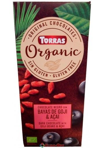 Torras Organic Bayas de Goji & Acai 125g
