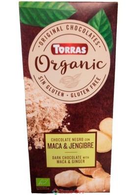 Torras Organic Maca & Jengibre 125g