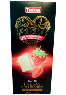 Torras Blanco Fresas White & Strawberry 125g
