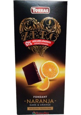 Torras Fondant Naranja Dark & Orange 125g