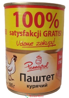 Pamapol Куриный паштет 390g