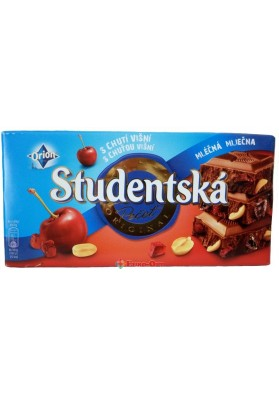 Studentska Pecet Mlecna Visna 180g