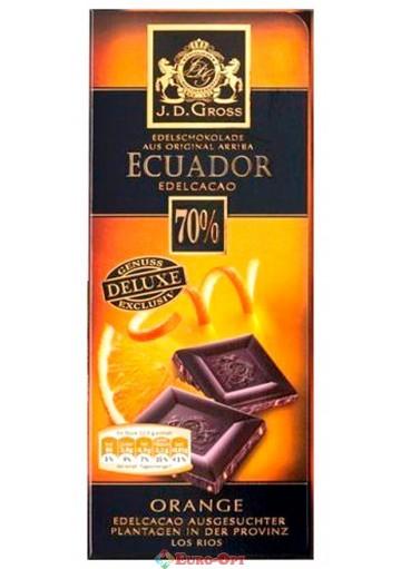 J.D. Gross Ecuador 70% 125g