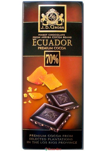 J.D.Gross Ecuador 70% Caramel (Карамель) 125g.