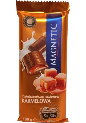 Magnetic Mleczna Nadziewana Karamelowa 100g