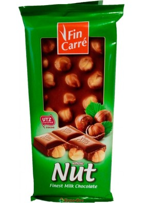 Fin Carre Whole Nuss 100g